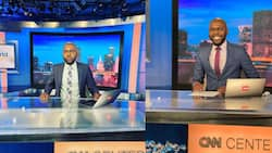 Larry Madowo Represents His Motherland in Us, Speaks to Interviewee in Fluent Swahili