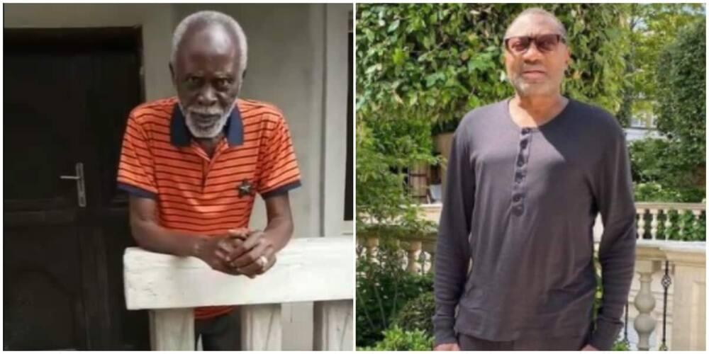 Photos of Dr Ini Ebong and Femi Otedola.