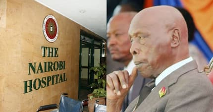 Ex-president Moi rushed to Nairobi Hospital, to spend nights - Family doctor