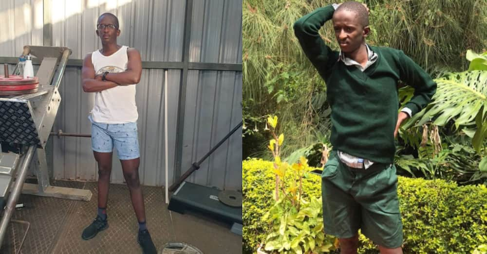 Comedian Njugush remembers having a tiny body with unforgettable TBT