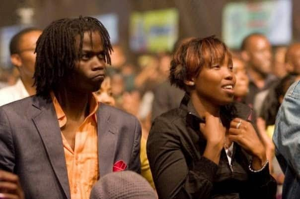 Juliani featured LC in the song Hela, which is on his Mtaa Mentality album.