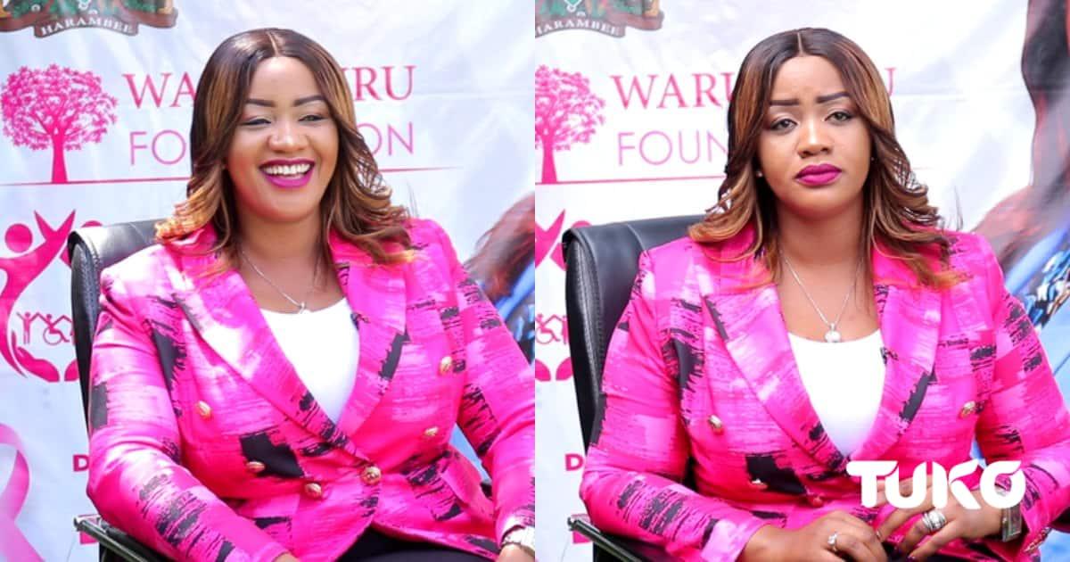 """""""Wenyewe Hunikatia"""" Cate Waruguru Akanusha Madai ya 'Kuiba' Waume za Watu ▷ Kenya News"""