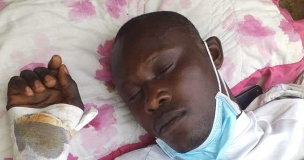 Jedi Onyango. Photo: Daily Monitor.