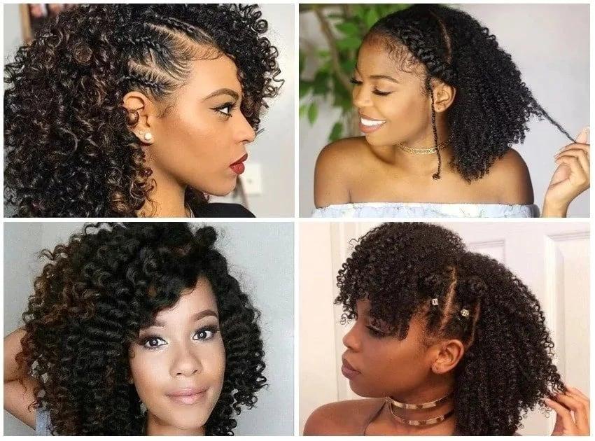 10 easy natural hairstyles for medium length hair Tuko.co.ke