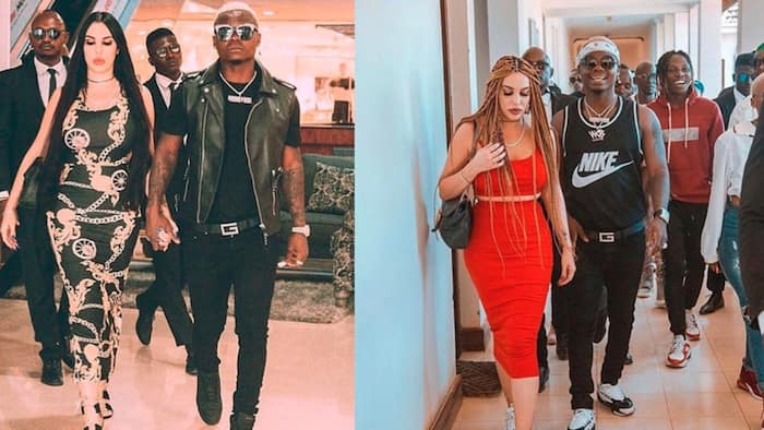 Harmonize's Italian Ex Sarah Happy after Singer Apologised for Ruining Their Romance