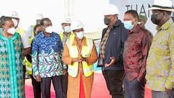 Raila Odinga Refuses to Address Makueni Crowd after Kalonzo Accused Him of Gatecrashing Event