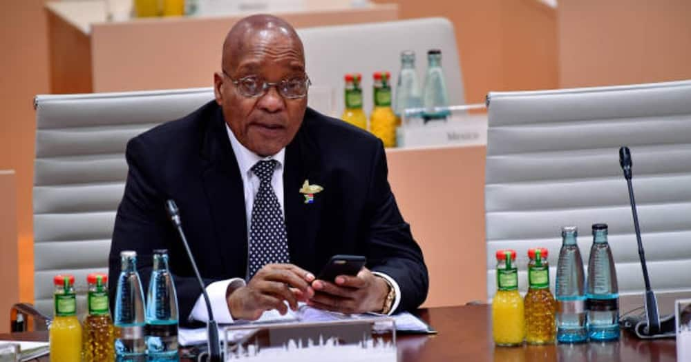 Former South Africa's president Jacob Zuma. Photo: Getty Images.