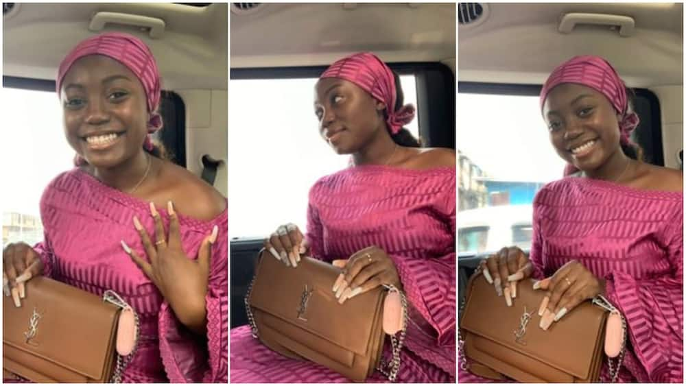 Nigerian lady steals show as she dresses in traditional attire, many react