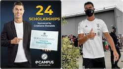 Cristiano Ronaldo Offers to Sponsor 24 Students at Top Italian University