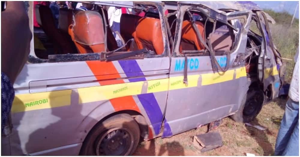 Victims were rushed to Makueni Level 4 Hospital for treatment. Photo: KBC