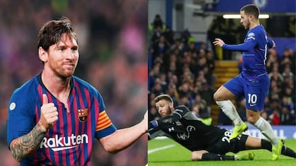 Chelsea star Eden Hazard reveals who between Messi and Ronaldo is the greatest footballer of all time