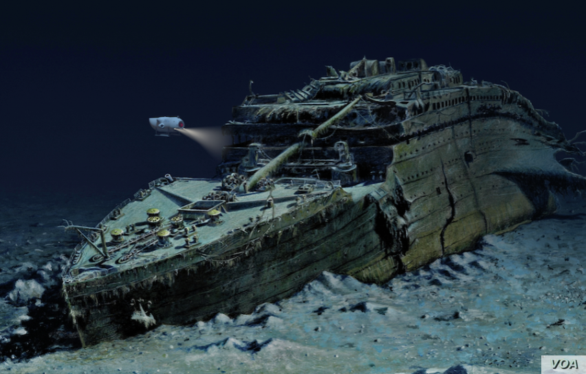 Don't disturb the dead: US government to stop company from retrieving Titanic's radio
