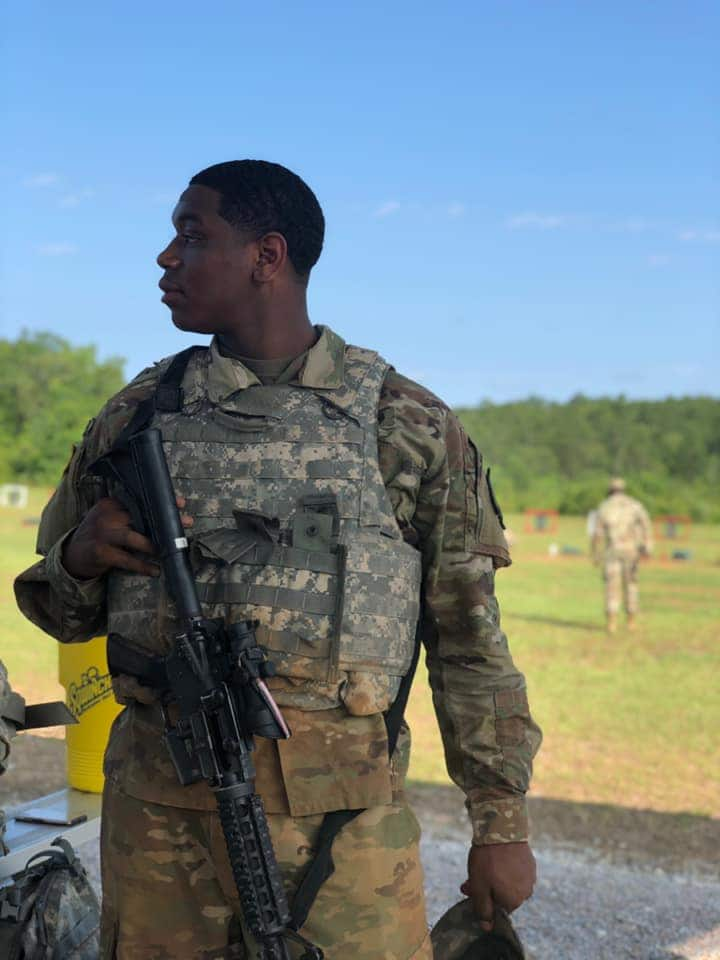 Emotional photos of young US soldier killed during al-Shabaab attack on Manda Island