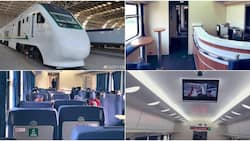 Nigeria unveils 24 ultra-modern trains to serve Lagos commuters