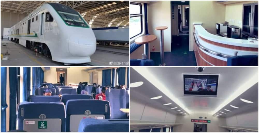 See the beautiful ultra-modern trains ready to ply the Lagos-Ibadan railway line