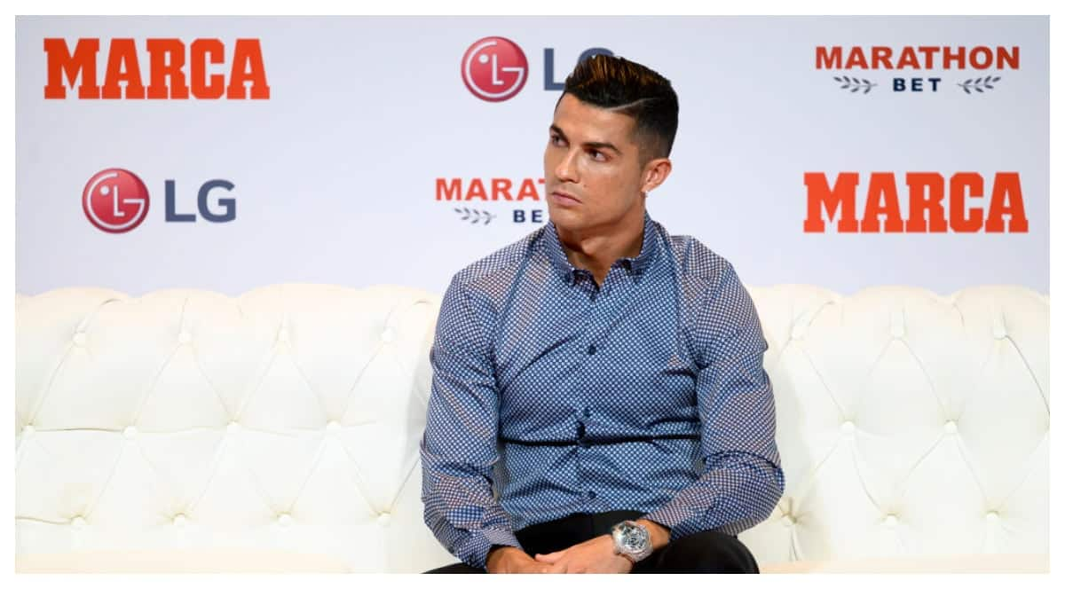 Juventus star Ronaldo breaks down in tears in TV interview (video)