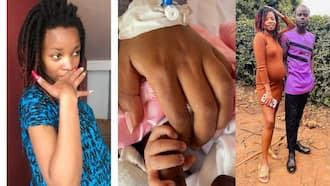 Comedian Mulamwah Gifts Lover Carol Sonie KSh 100k after Birth of Their Daughter