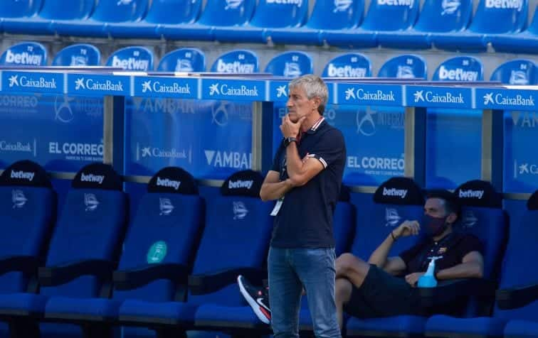 Quique Setien says Barcelona are yet to compensate him 4 months after being sacked