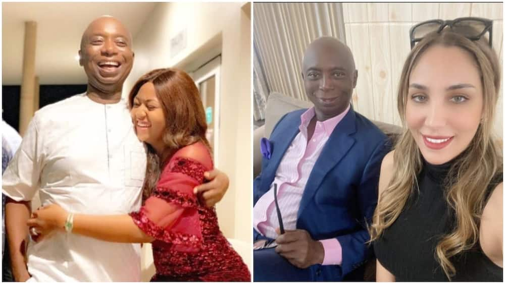 Ned Nwoko Says Marrying more than 1 Wife Prevents Women from Going Wayward, Gives Reasons for his Polygamy
