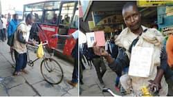Kutana na pasta aliyeendesha baiskeli kutoka Kisii hadi Nairobi kusaka ajira