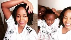 "Ababu Namwamba's Cute Kids, Their Mum Stun in Adorable Matching Jerseys: ""Team Arsenal"""
