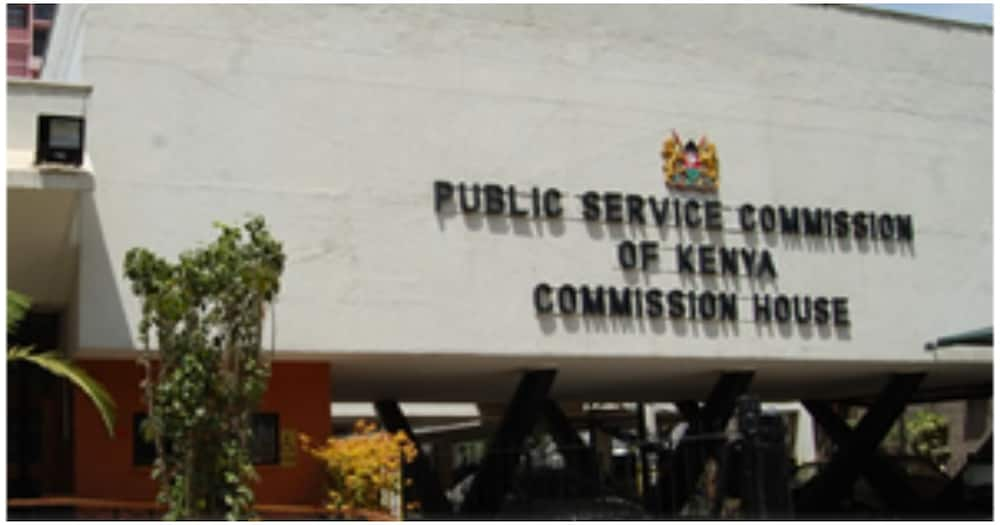 The report indicated there were 45,291 employed Kikuyus in civil service. Photo: PSC