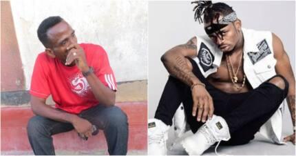 Babake Diamond Platinumz hawezi kutembea vema, aomba msaada kutoka kwa mwanawe