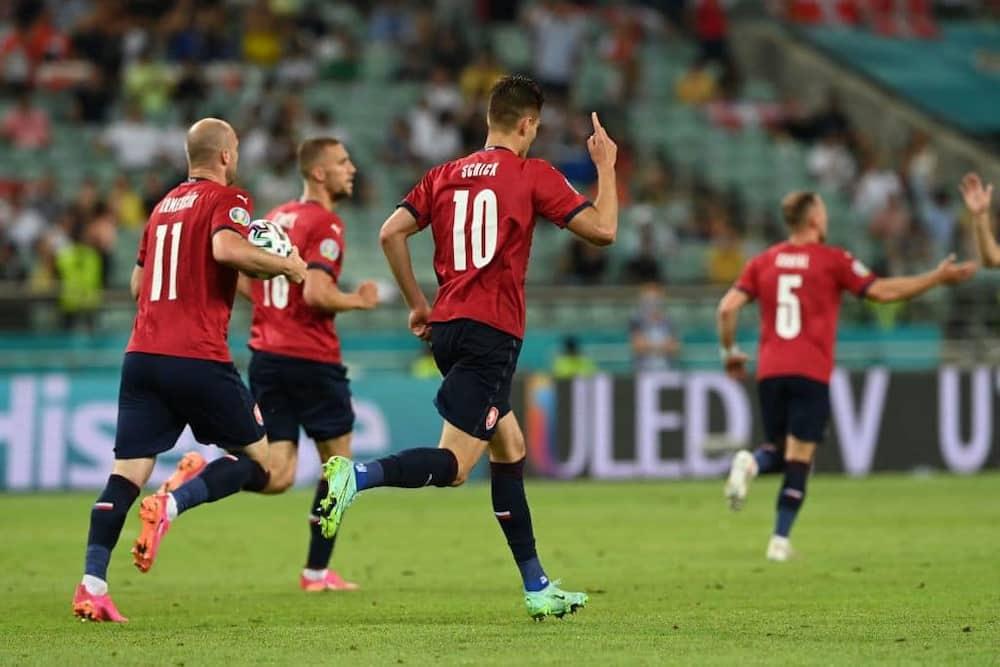 Czech Republic vs Denmark: Schick scores 5th Euro 2020 goal but Danish team progresses to semifinal
