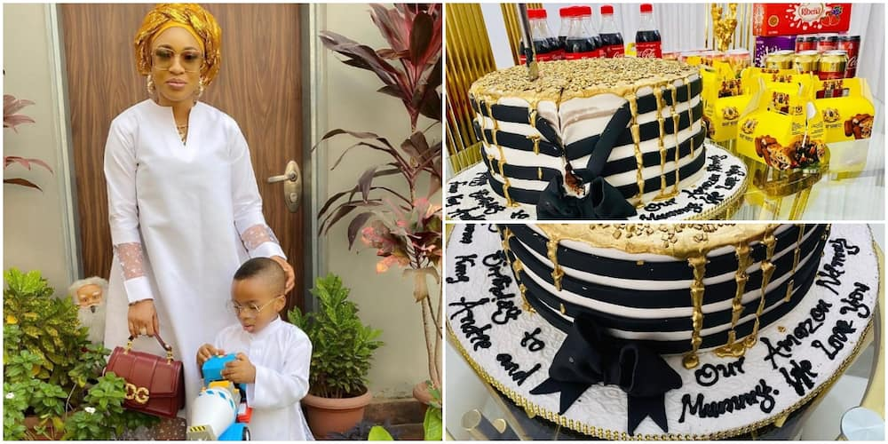 One Year after iPhone 11 Gift, Tonto Dikeh Massively Surprises Her Son's Nanny Again for Birthday