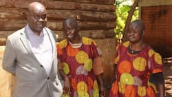 Trans-Nzoia: Family With Visually Impaired Dad, Daughters Braves Challenge To Make Ends Meet