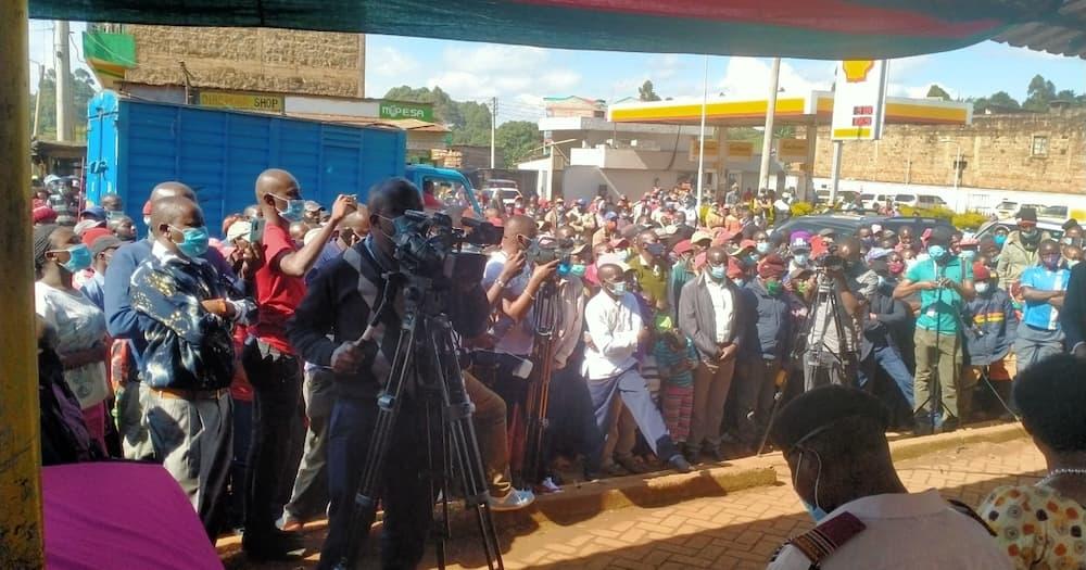 Murang'a: Raila aongoza shughuli ya ukusanyaji sahihi za BBI