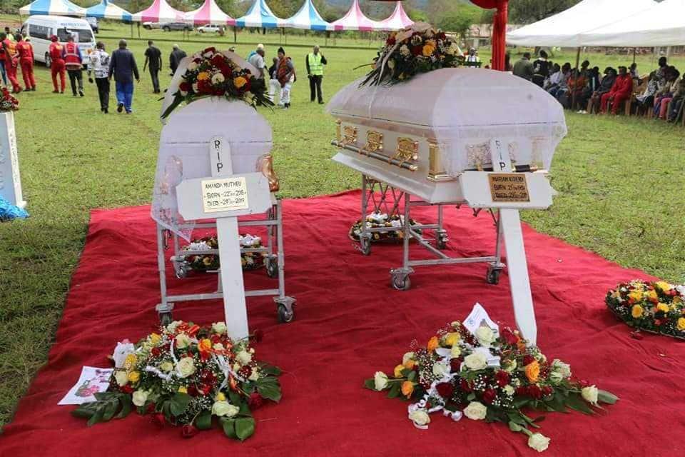 Mariam Kighenda and daughter's bodies arrive in Makueni for burial