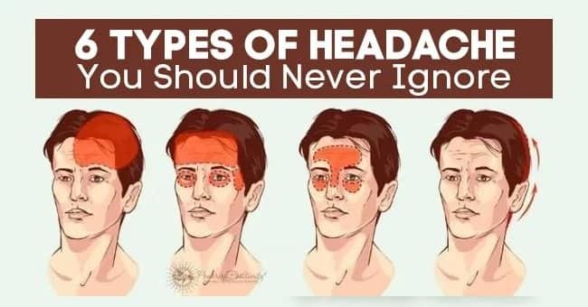 6 types of headache you should never ignore Tuko.co.ke