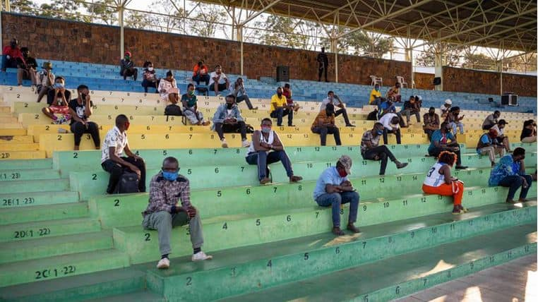 Rwandans forced to attend all-night lectures as punishment for not wearing mask, violating curfew