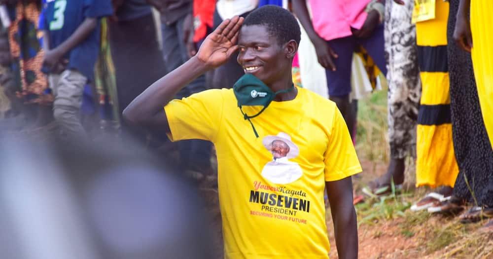 Yoweri K. Museveni.