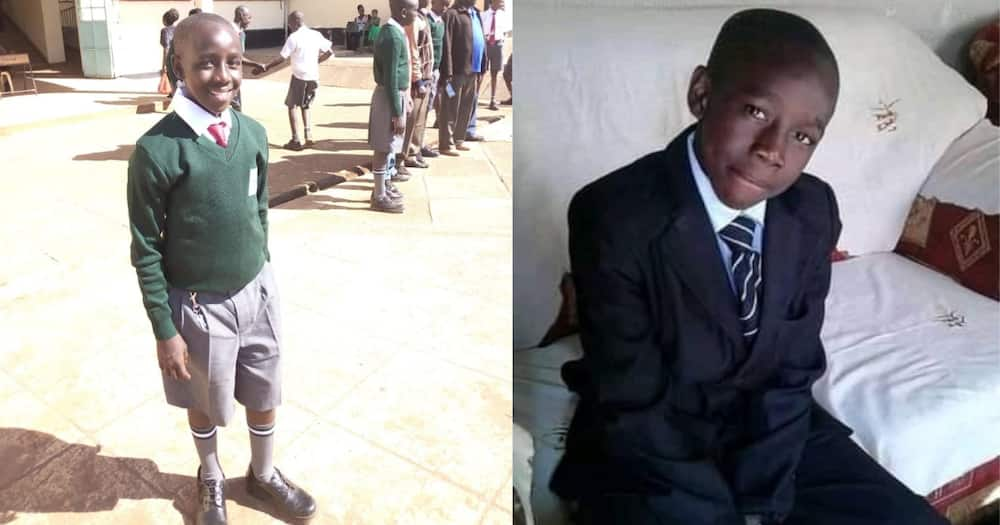 Tom was a Form 2 student at Maseno School.