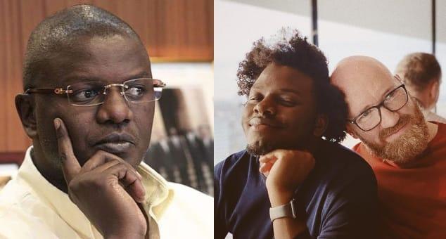 Louis Otieno's son Silas Miami confirms he's gay, has married his mzungu lover
