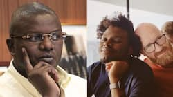 Louis Otieno's son Silas Miami confirms he is now married to gay lover