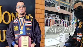 Van Vicker: Photos Drop as Actor Completes University as Best Student 21 Years after Completing High School