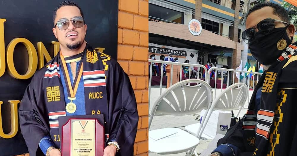 Van Vicker graduates from AUCC.