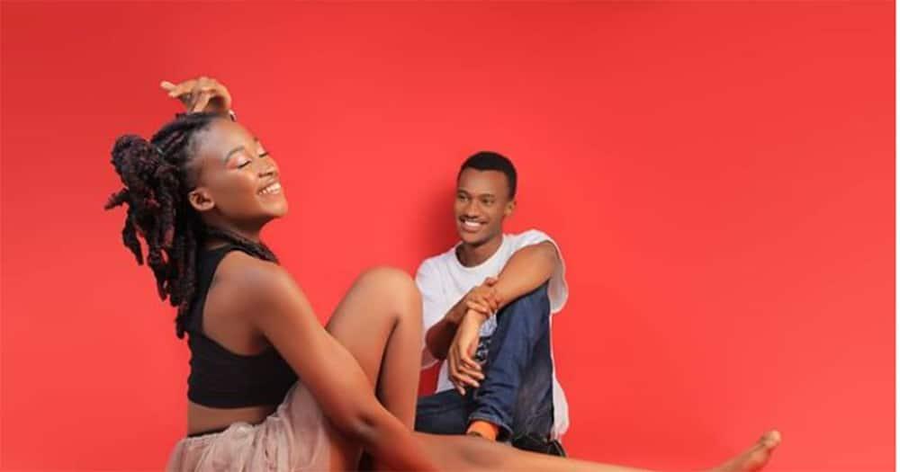 Machachari's Tosh and his girlfriend