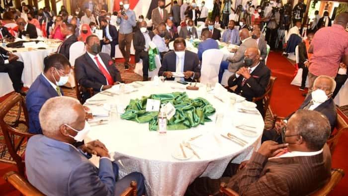 Vinara wa Muungano wa OKA wamshambulia Ruto wakiwa kwenye mkutano na viongozi wa Mlima Kenya