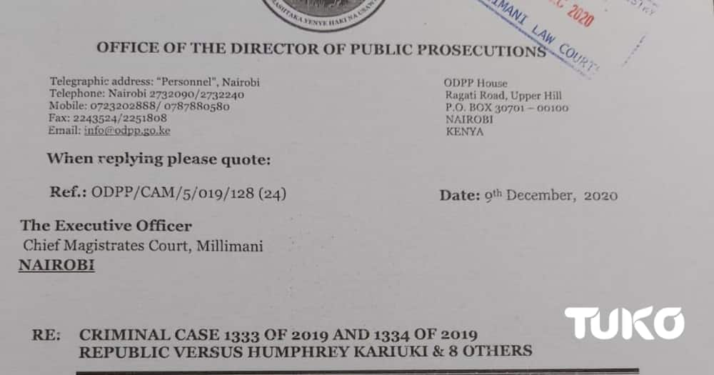 DPP Noordin Haji decries acquittal of tycoon Humphrey Kariuki from tax evasion case