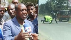 Nakuru Tuk Tuk operators condemn missing colleague who clobbered two police officers
