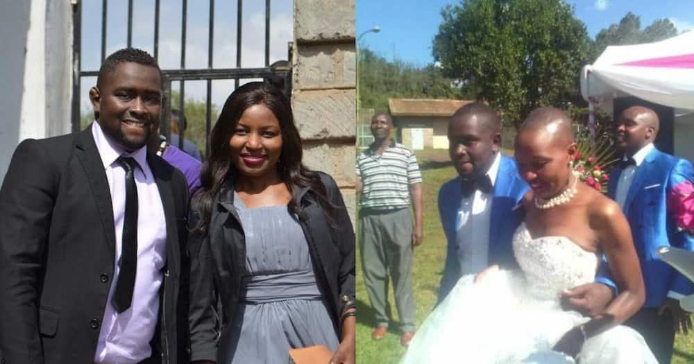 Kawira and her husband.