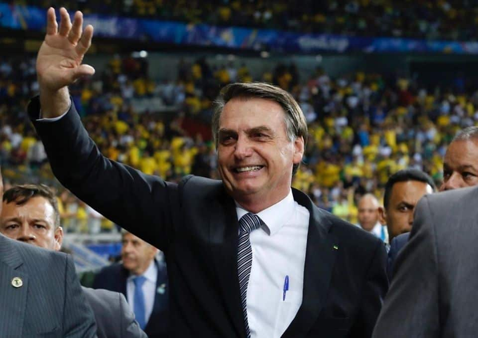 Donald Trump seen wearing facemask in public days after Brazil's Bolsonaro tested positive