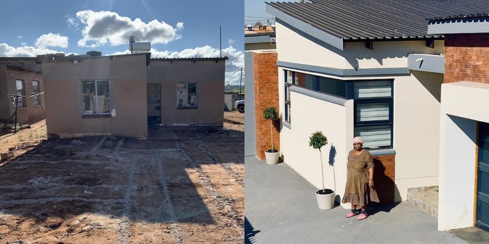 """Grateful to God"": Man Builds Mom New Home, Shares Heartwarming Snaps"