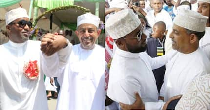 Governor Hassan Joho buries hatchet with fierce rival Suleiman Shahbal, agree to develop Mombasa together