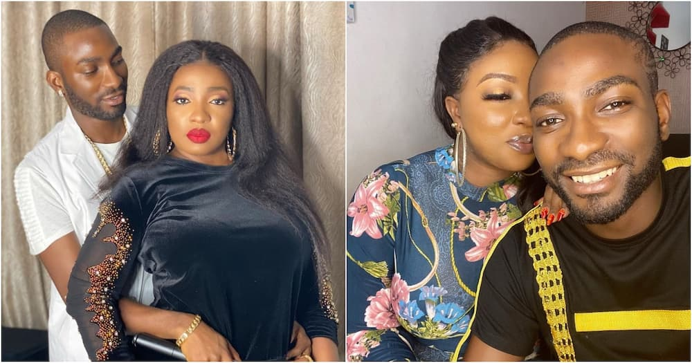 Nollywood actress Anita Joseph under fire for posting video of her husband bathing her