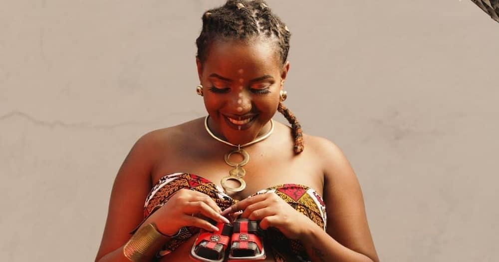 Willis Raburu's baby mama Ivy Namu has fired back at trolls attacking her son.